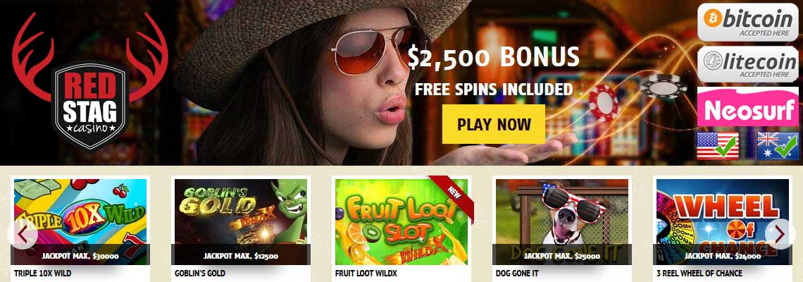 Red Stag Casino 1 And 5 Minimum Deposit Au Us Welcome