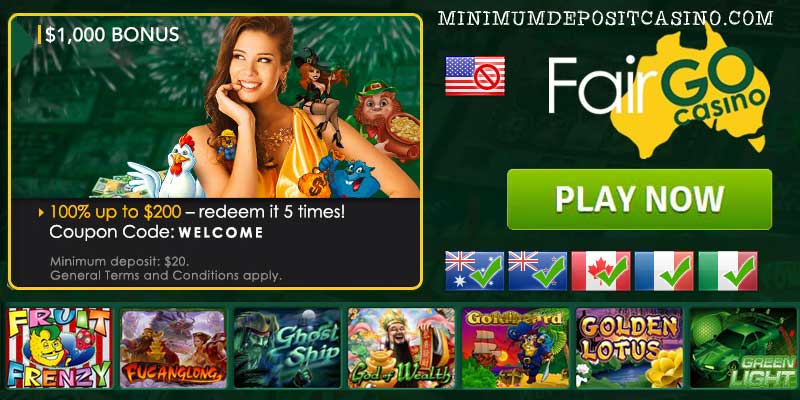 $5 minimum deposit casino australia